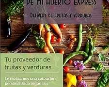Vendo Frutas Y Verduras De Mendoza Al Por Mayor