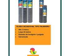 Tejido Hexagonal Tipo Pajarero