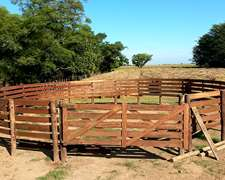 Picadero Para Caballos Corral X 15m Diametro Instalado