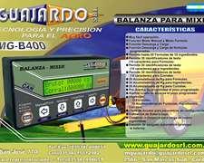 Trm Balanzas Mgb 400 Para Mixer