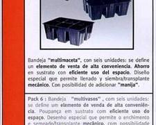 Macetas Pack X 6