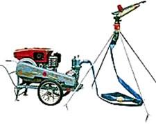 Equipo Riego Completo Motobomba 12 Hp Diesel C/tra