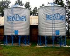 Silos Metalmen- Colonia Menonita