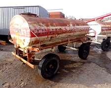 Acoplado Tanque De Combustible O Agua Gentili