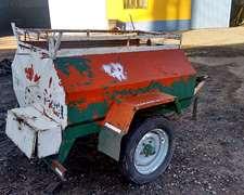 Acoplado Tanque Para Combustible De 1000 Litros, Marca Indua