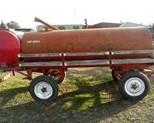 Tanque 2600 Litros Combinado Con Tanque 1000 Litros Para Agu