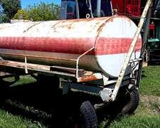 Tanque De Gas Oil Gentili De 3.000 Con Bomba