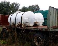 Tanques Plasticos Horizontales (5000lts) Ref12