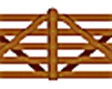 Tranquera De Madera Modelo E