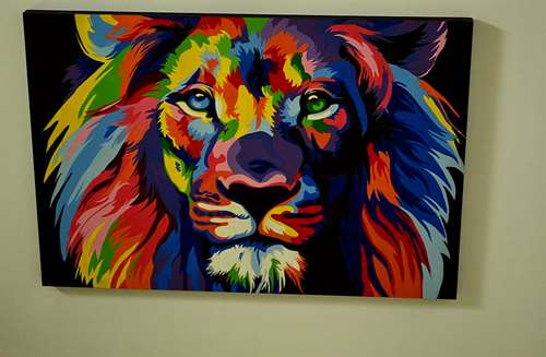 Vendo cuadros pintados con acr licos 900 agroads - Cuadros pintados con spray ...