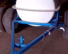 Acoplado Cisterna Plastico Para Agua 600 Lts.