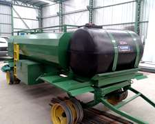 Acoplado Combinado 3500 Lts/ Deposito Agua 700 Lts / Baulera