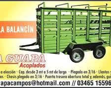 La Guapa Trailer Hacienda 4 Mt X 2 Mt Disponibles