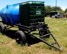 Acoplado Remolque Cisterna Agua 4000 Litros
