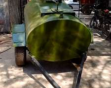 Acoplado Cisterna Combustible 1500 De Un Eje