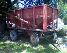 Acoplado Semilla Fertilizante De 8 Tt Con Chimango