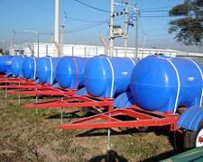 Acoplado Tanque 1000l, 1250l, 1625l, Plastico