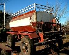 Acoplado Tanque 1600 Lts