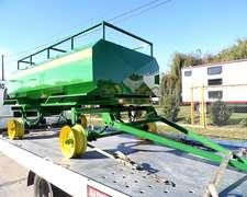 Acoplado Tanque Combustible - 3.000 Litros - Cisterna Gasoil