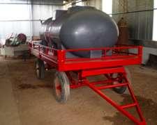 Acoplado Tanque 3400 Lts P/ Agua Y/o Fertilizante Liquido