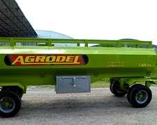 Acoplado Tanque Combustible 5000 Lts Marca Agrodel