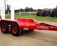 Acoplado Trailer Carreton P/ Autoelev Tecnar Tau3000 Nuevo