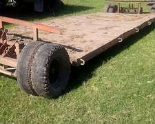 Carreton Hidráulico Santa Rosa 8 Ruedas: 6 Metros $ 48.000
