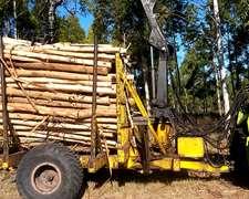 Carro Forestal Con Grua 10 Tn