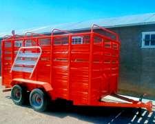 Carro Transporte De Hacienda Para 6 Cabezas