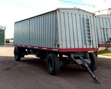 Full Trailer Acoplado + Semi