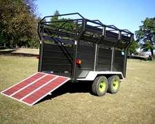 Jaula Para Transporte De Equinos, Sistemas Forrajeros
