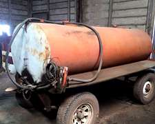 Tanque 3000 Lts. Con Bomba