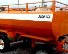 Tanque Cisterna Metalico 3000 L