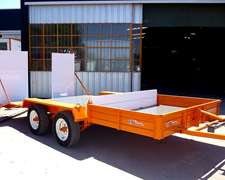 Trailer Mini Carreton Ct500 - 3 Tn - Remolques / Auxilios