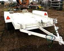 Trailer Portavehiculos Capacidad 5,6 Ton