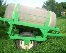 Vendo Acoplado Tanque Cisterna De Un Eje Para 1500 Kgrs