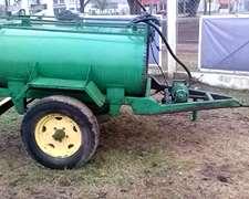 Vendo Tanque Batan Cap 1000 Lts Con Bomba Electrica