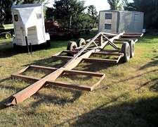Transportador De 8 Rollos Con Balancin Huracan