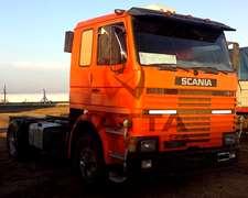Camión Scania 112 - Modelo 1985 - Climatic- Vigía De Gomas.