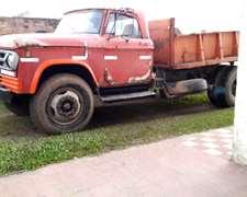 Camion Dodge 600 Mod 77 Volcador Con Motor 1114 Permuto