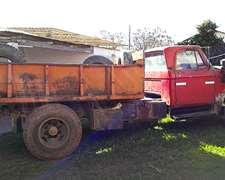 Camion Dodge 600 Mod 77 Volcador- O Se Vende La Volcado Sola