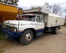 Camion Ford 600 Con Tanque De 7500 Lts