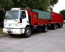 Camion Ford Cargo 1722 Y Acoplado Salto 1976