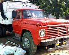 Camion Ford Mod 69- Volcador - Tompo Permuta Chica