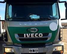 Camion Iveco Cursor 330 Modelo 2013 Largo Con Carroc Playa