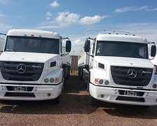 Camion Mercedes Benz 1634 Y Semi De 13,50m Mod 2013 Engomado
