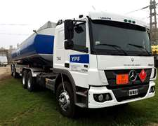 Camion Mercedes Benz 1725 Atego Año 2012, Tanque Full