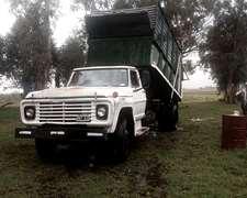 Camion Volcador Para Silajes De 18mts