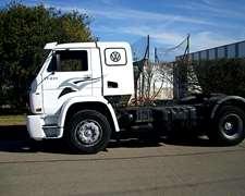 Camion Volkswagen Con Plato 17-220 Año 2007