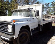 Ford 700 Ano 1972 C/malacate Y Cisterna 8000 Lts